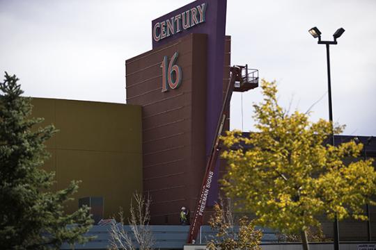 Century 16 Construction