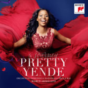 "This cover image released by Sony Classical shows ""A Journey,"" a release by Pretty Yende. (Sony Classical via AP)"