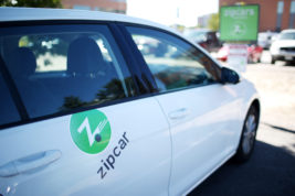 Zipcar has brought their services to Aurora by adding six cars to the Anschutz medical Campus on Monday Sept. 19, 2016. Photo by Gabriel Christus/Aurora Sentinel