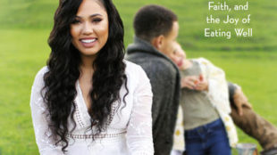 """This cover image released by Little, Brown and Company shows """"The Seasoned Life: Food, Family, Faith, and the Joy of Eating Well,"""" by Ayesha Curry. (Little, Brown and Company via AP)"""