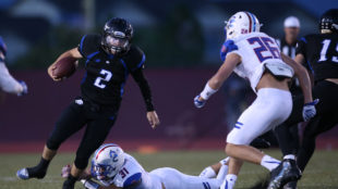 The Grandview Wolves beat the Cherry Creek Bruins 17-6 on Friday Sept. 23, 2016 at Legacy Stadium. Photo by Gabriel Christus/Aurora Sentinel