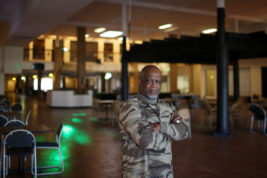 Leon Burroughs is the new owner of Soul Center, the space formerly known as Afrikmall on Tuesday Nov. 01, 2016 at 10180 East Colfax Avenue. Photo by Gabriel Christus/Aurora Sentinel