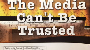 A mass mailer to voters paid for by the Colorado Republican Committee