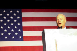 After clinching a victory, Rep. Mike Coffman addresses the crowd at the GOP watch party Nov. 8, at the Doubletree Hotel in the Denver Tech Center.  (Photo by Philip B. Poston/Aurora Sentinel)