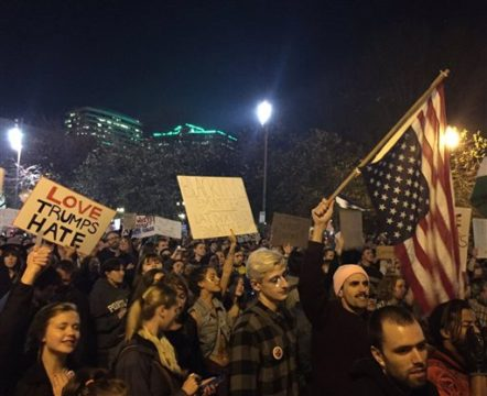 Outrage and fear fuel continuing anti-Trump protests