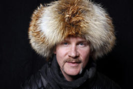 """FILE - In this Jan. 23, 2016, file photo, filmmakers Morgan Spurlock poses for a portrait to promote the series, """"Eagle Huntress"""", at the Toyota Mirai Music Lodge during the Sundance Film Festival in Park City, Utah. Spurlock, the maker of the documentary film """"Super Size Me,"""" is preparing to test out a new fast-food restaurant concept in Columbus. Spurlock is planning a four-day, pop-up restaurant called """"Holy Chicken!"""" beginning Saturday, Nov. 19, 2016. (Photo by Matt Sayles/Invision/AP, File)"""