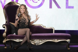 "FILE - In this Wednesday, Aug. 3, 2016, file photo, Mariah Carey participates in the ""Mariah's World"" panel during the NBC Television Critics Association summer press tour in Beverly Hills, Calif. Carey will perform on New Year's Eve in New York's Times Square moments before the ball drops, announced Thursday, Dec. 1, 2016. (Photo by Richard Shotwell/Invision/AP, File)"