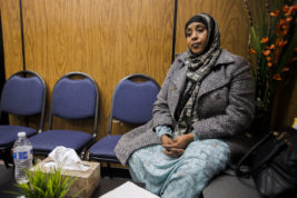 Saido Osman was verbally harassed in a local Walmart in Aurora in December 2015, one of many hate crimes that took place in the local community over the past year. Osman is a Somalian woman who has lived in the U.S. for six years, and Aurora for the past three of those years.   Photo by Michael Ortiz/ Aurora Sentinel