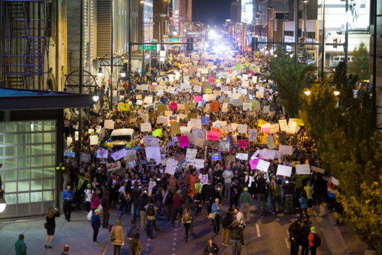 20161110-Trump protest-Denver, Colorado