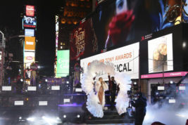 "FILE - In this Dec. 31, 2016, file photo, Mariah Carey performs at the New Year's Eve celebration in Times Square in New York. Carey told Entertainment Weekly in an interview published online Jan. 3, 2017, that she was was ""mortified"" in ""real time"" during the disastrous live performance in which she stumbled through several songs. (Photo by Greg Allen/Invision/AP, File)"