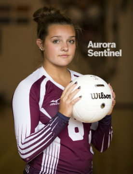 Cherokee Trail High School's Kenzie Hendon on Thursday Aug. 18, 2016 at Cherokee Trail High School. Photo by Gabriel Christus/Aurora Sentinel