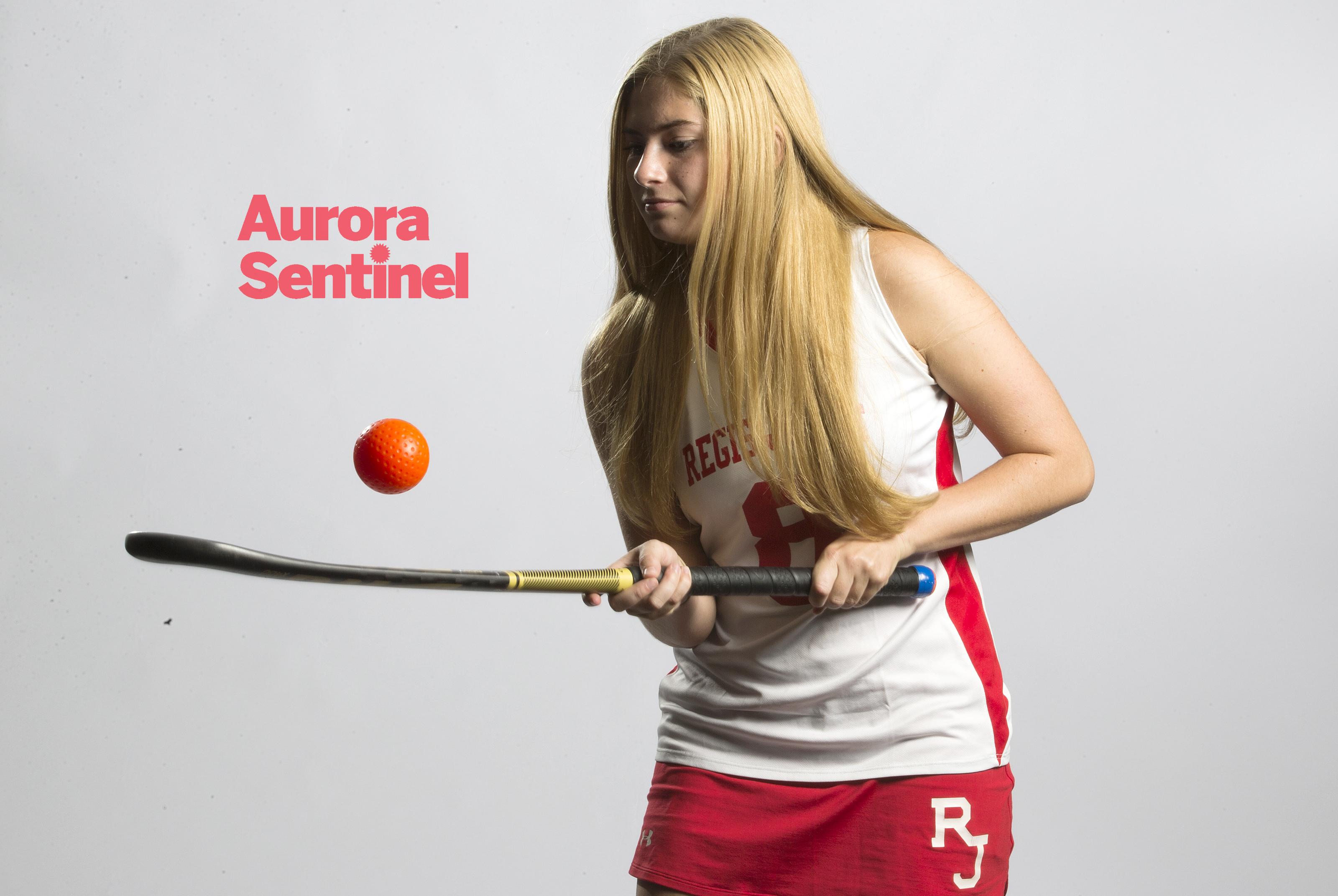 Regis Jesuit High School field hockey Regan Cadieux on Wednesday Aug. 10, 2016 at Aurora Sentinel. Photo by Gabriel Christus/Aurora Sentinel