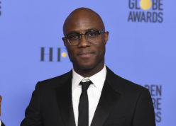 """FILE - This Jan. 8, 2017 file photo shows Barry Jenkins, director of """"Moonlight,"""" in press room at the 74th annual Golden Globe Awards in Beverly Hills, Calif. Jenkins, """"La La Land"""" director Damien Chazelle, and """"Manchester By The Sea"""" director Kenneth Lonergan all scored their first ever Directors Guild Award nominations for outstanding directorial achievement for a feature film, Thursday, Jan. 12, 2017. Winners for the 69th annual Directors Guild awards will be announced in Los Angeles on Feb. 4.  (Photo by Jordan Strauss/Invision/AP)"""