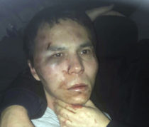 Reina club attacker after being caught by Turkish police in Istanbul, late Monday, Jan. 16, 2017. Turkish media reports say police have caught the gunman who killed 39 people at an attack on a nightclub in Istanbul during New Year's celebrations, detained during a police operation. (Depo Photos via AP)