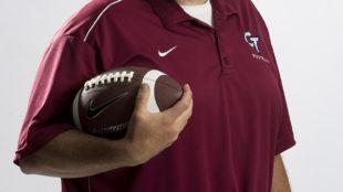 Cherokee Trail High School football coach Dain Magnall on Friday Aug. 05, 2016 at Aurora Sentinel. Photo by Gabriel Christus/Aurora Sentinel