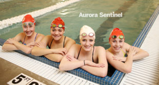 Regis Jesuit High School freshmen Sophia Bradac, Jada Surrell-Norwood, Jenna Newkirk, and Parker Biley on Tuesday Feb. 07, 2017 at Regis Jesuit High School. Photo by Gabriel Christus/Aurora Sentinel
