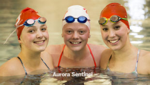 Regis Jesuit High School seniors Isabella Schultze, Jennae Frederick, and Samantha Smith on Tuesday Feb. 07, 2017 at Regis Jesuit High School. Photo by Gabriel Christus/Aurora Sentinel