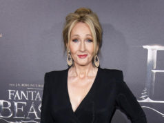 "FILE - In this Nov. 10, 2016 file photo, J. K. Rowling attends the world premiere of ""Fantastic Beasts and Where To Find Them"" in New York. British TV personality Piers Morgan and Rowling are in a Twitter war over American politics. He called her work ""drivel"" and she called him ""amoral"" after Morgan defended the U.S. government's travel ban during an appearance on HBO's ""Real Time with Bill Maher"" Friday, Feb. 10, 2017. (Photo by Charles Sykes/Invision/AP, File)"