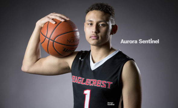 Eaglecrest High School Colbey Ross on Monday March 06, 2017 at Grandview High School. Photo by Gabriel Christus/Aurora Sentinel