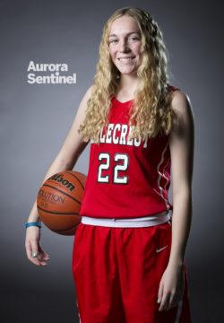 Eaglecrest High School Jessica Stoner on Friday March 03, 2017 at Smoky Hill High School. Photo by Gabriel Christus/Aurora Sentinel