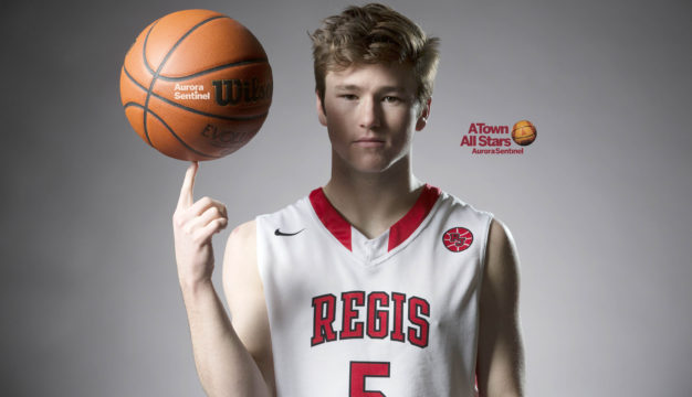 Regis Jesuit High School Connor Hobbs on Friday March 03, 2017 at Smoky Hill High School. Photo by Gabriel Christus/Aurora Sentinel