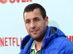"FILE - In this May 16, 2016 file photo, Adam Sandler, a cast member in ""The Do-Over,"" poses at the premiere of the film in Los Angeles. Netflix has extended its deal with the comedian for four more feature films. As part of a previous four-movie deal, Sandler has already produced and starred in two films for Netflix. While neither ""Ridiculous 6"" nor ""The Do-Over"" received anything close to good reviews, Netflix said Friday, March 24, 2017, they are the biggest film releases for the service. Sandler's next Netflix film, ""Sandy Wexler,"" debuts on April 14. (Photo by Chris Pizzello/Invision/AP, File)"