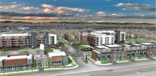 "Andrea Amonick, manager of the city's Development Services Division, said the city has a ""pre-development"" agreement in place Dillon Place Development Group, a plan for the old Fan Fare site in Aurora"