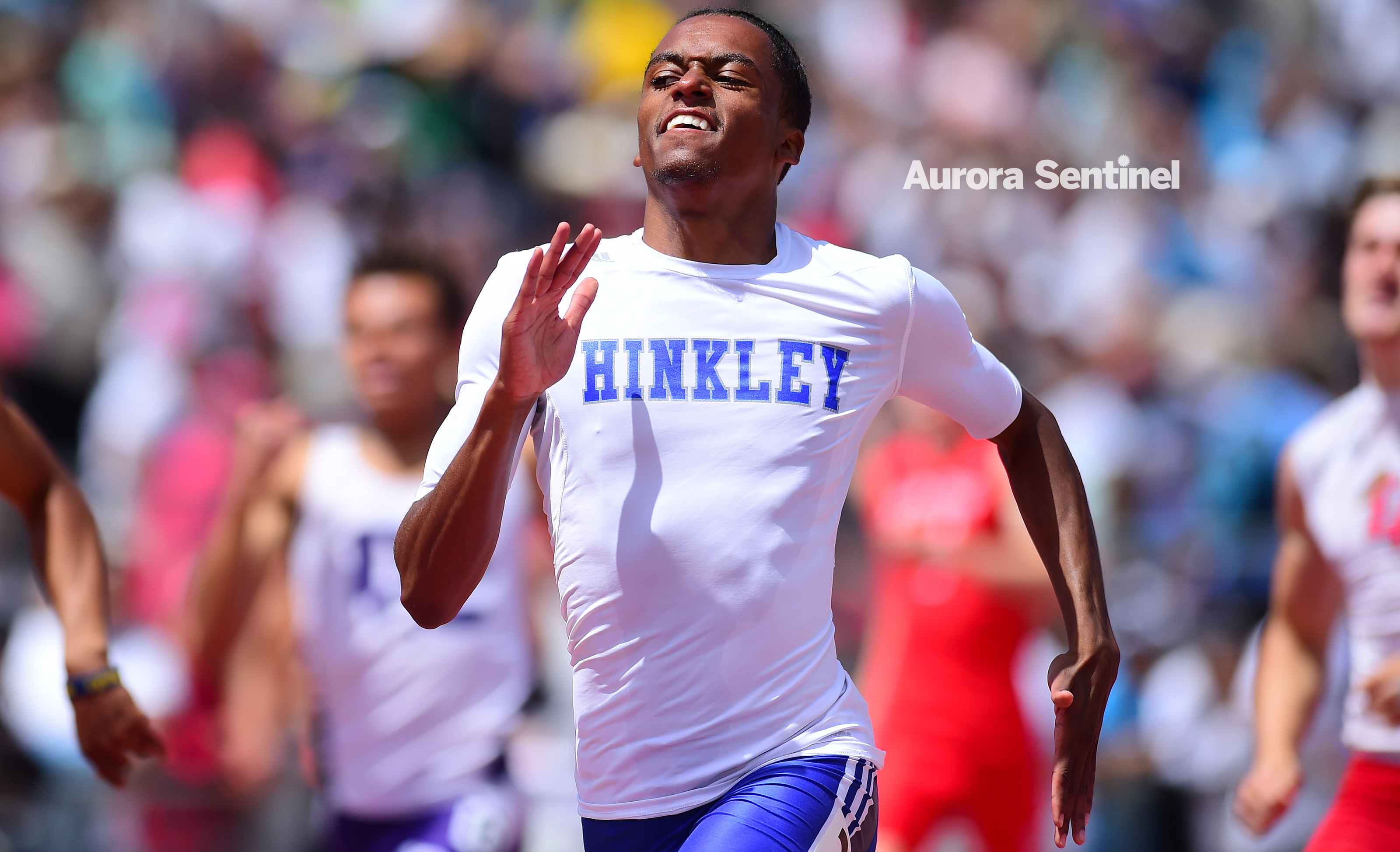 Track & Field: High-powered Hinkley repeats in third place in team standings at 5A state meet