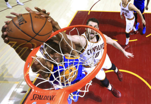 Win keeps Cavaliers alive in NBA Finals class=