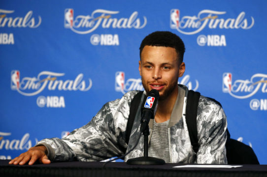 NBA Finals 2017: Steph Curry says, 'Why not take care of business?'