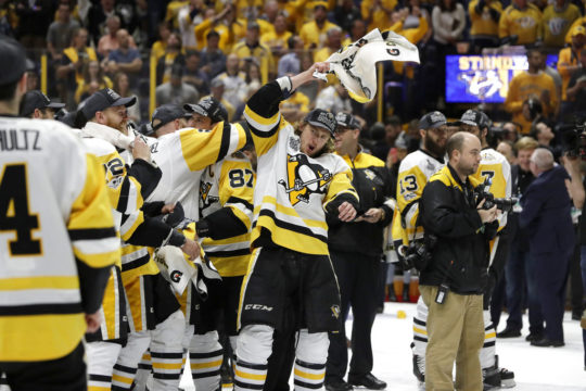 Penguins blank Predators, repeat as Stanley Cup champs