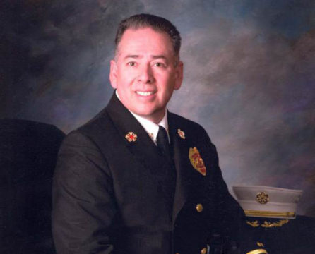 Aurora Fire Chief Mike Garcia (File photo)