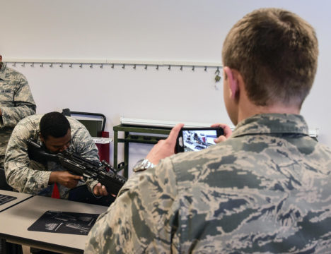 Academy cadets get look at operational AF missions