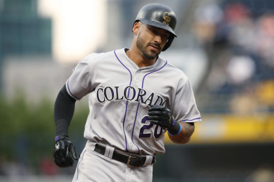 Jaso's pinch-hit homer powers Pirates by Rockies 5-2
