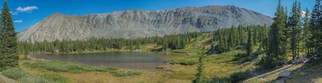 Ptarmigan Lake near the Cottonwood Pass. Photo by Adam Meek