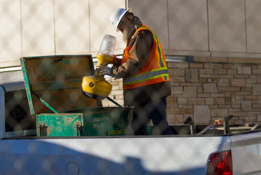 VA Hospital: Construction on Hold