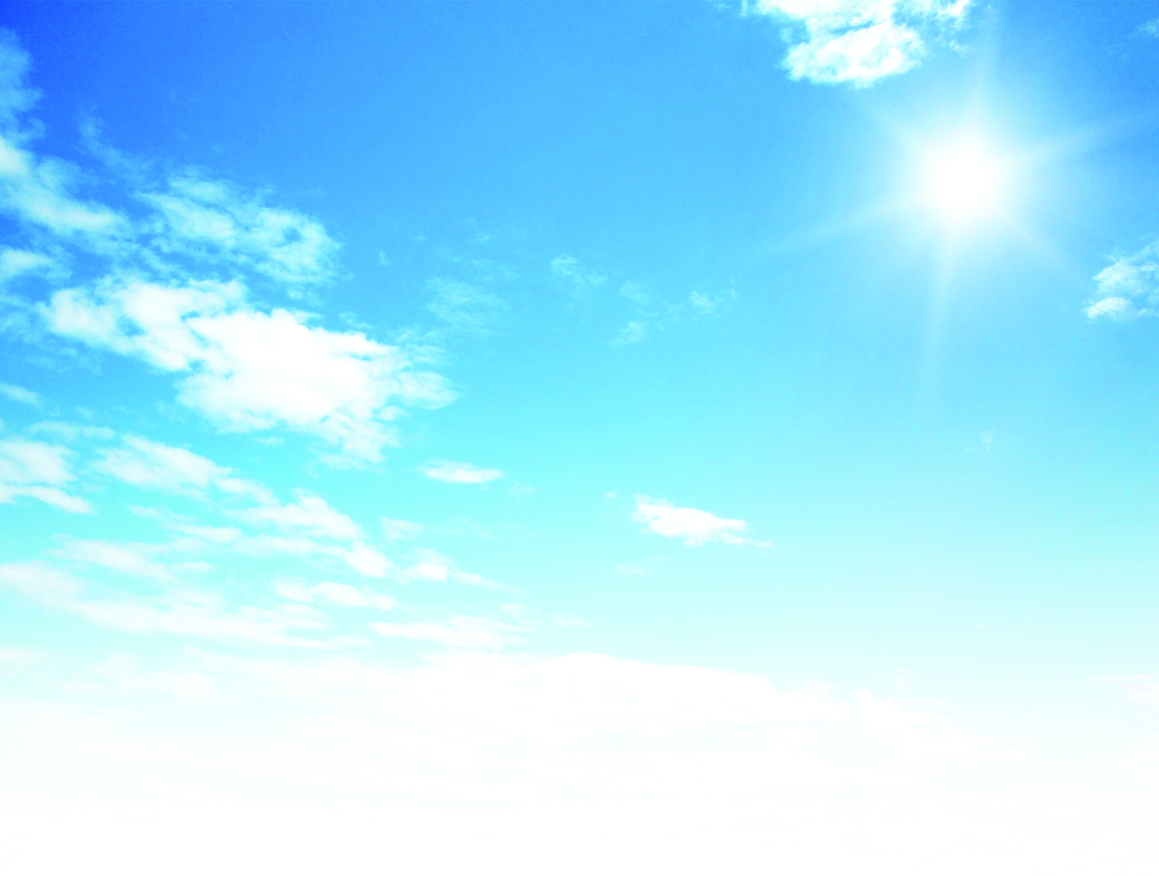 D background images - Blue Sky Background With Tiny Clouds