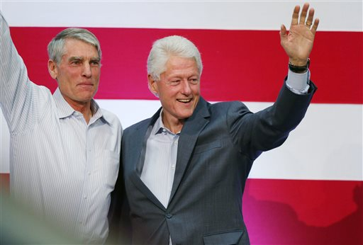 Mark Udall, Bill Clinton