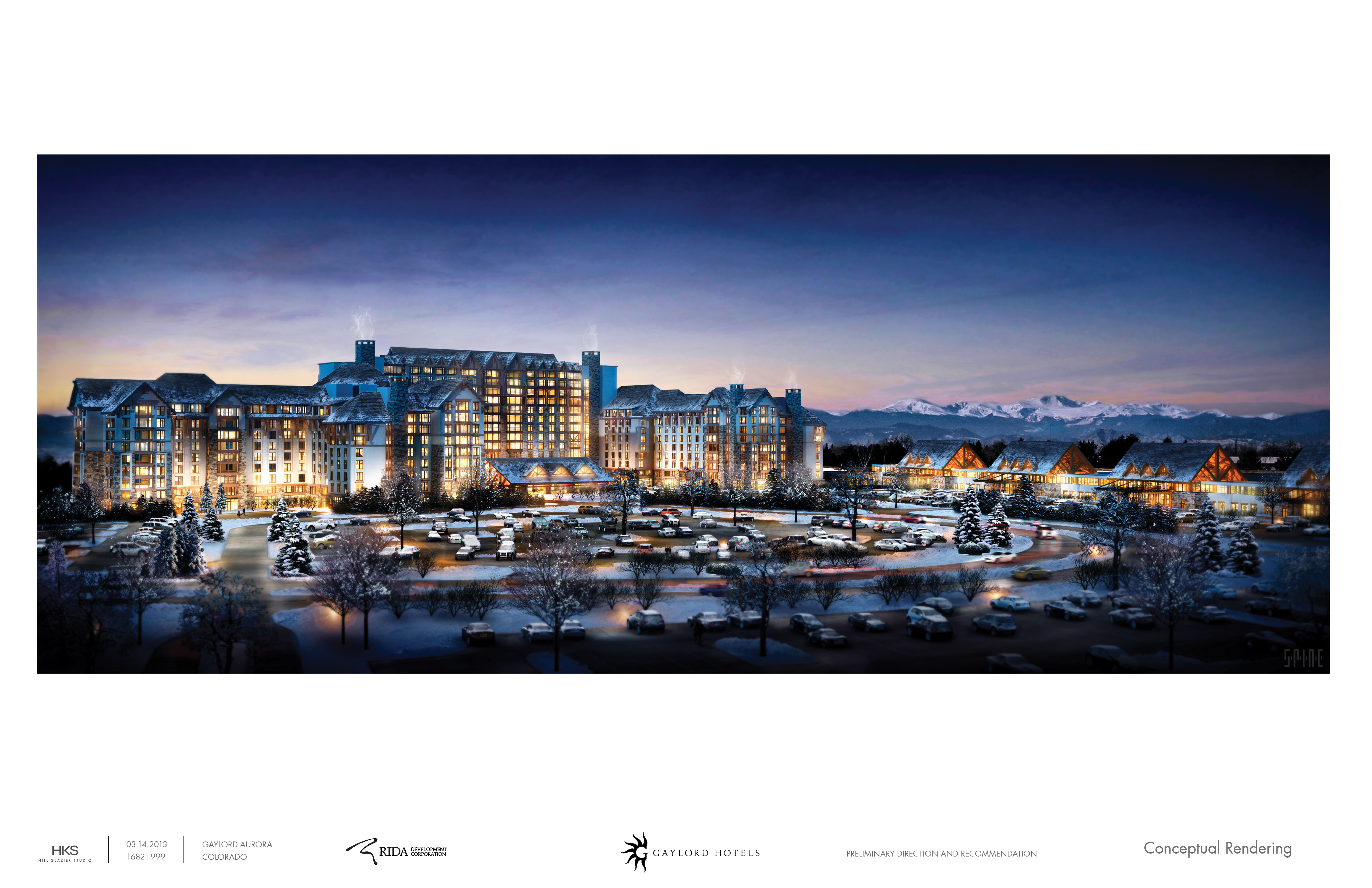 gaylord hotel vote pushes aurora project closer to groundbreaking