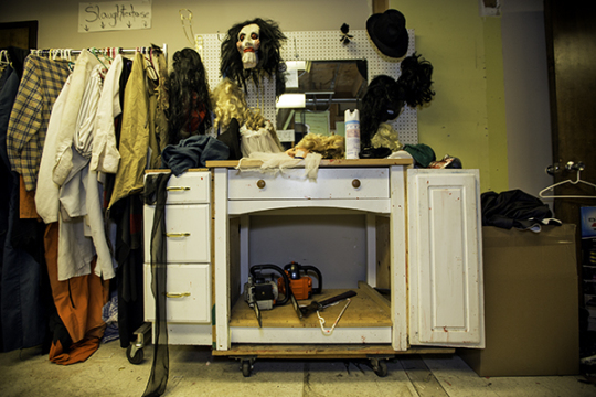 An assortment of costumes and accessories wait for fitting Oct. 14 at 13th Door Haunted House. The 13th Door and Curse of the Slaughterhouse Gulch coincide ... & FRIGHT NIGHTS: Fun-filled horror choices about this year - Aurora ... Pezcame.Com
