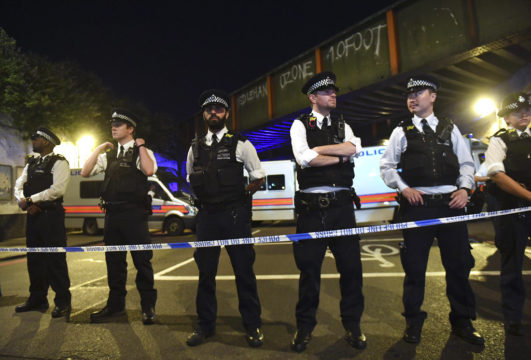 Imam 'protected van driver' from angry public after London mosque attack