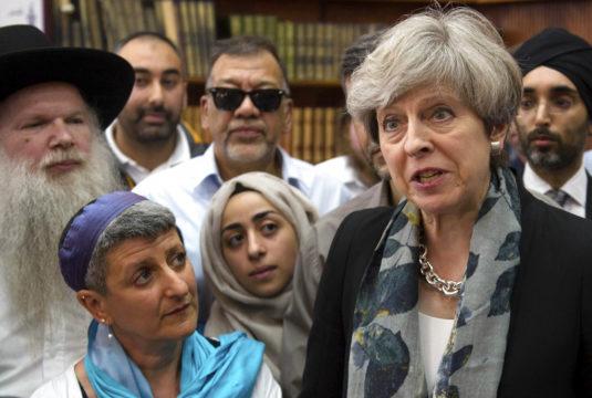 APTOPIX Britain Mosque Attack