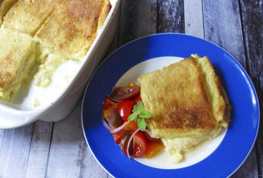 Food KitchenWise Cheese Sandwich Souffle