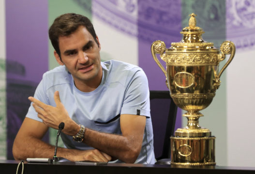 Hungover Roger Federer calls on next generation to add more variety