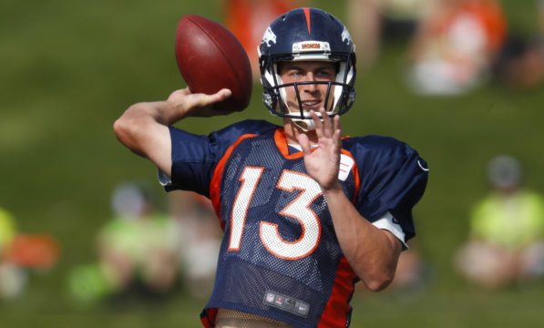 QB Siemian to start preseason opener for Broncos