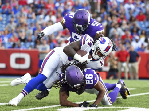 Tyrod Taylor targets Sammy Watkins early, often in Buffalo Bills' preseason opener