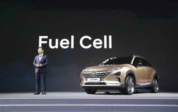 South Korea Hyundai Fuel Cell SUV