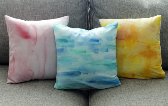 Crafts Whichcraft Painted Pillowcases