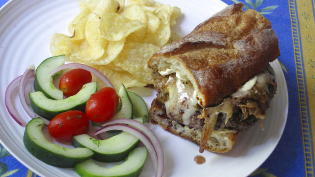 Food Kitchenwise French Onion Soup Burgers