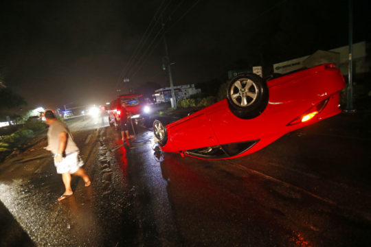 Tropical Storm Irma continues to weaken